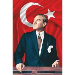 1000x1500 Atatürk Posteri
