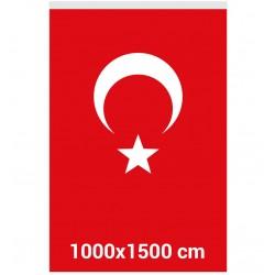 10mx15m Türk Bayrağı