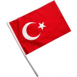 30x45 Sopalı Türk Bayrağı