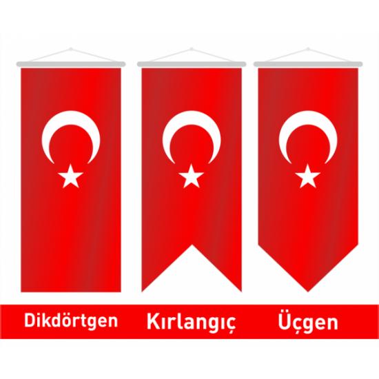 50x150 Kırlangıç Türk Bayrağı