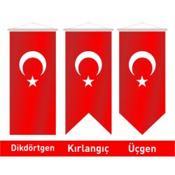 50x200 Kırlangıç Türk Bayrağı
