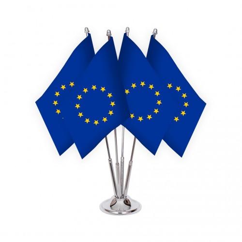 Dörtlü Avrupa Birliği Masa Bayrağı Takımı