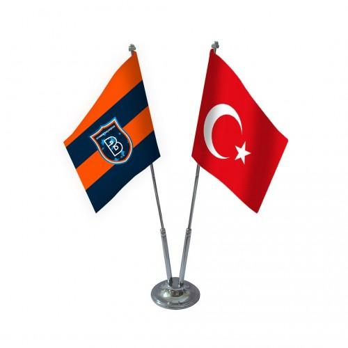 İkili Başakşehirspor Masa Bayrağı Takımı