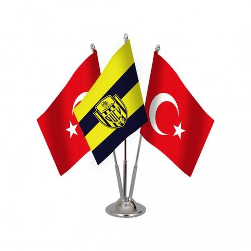 Üçlü Ankaragücü Masa Bayrağı Takımı