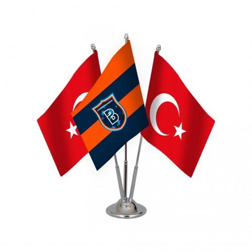 Üçlü Başakşehirspor Masa Bayrağı Takımı