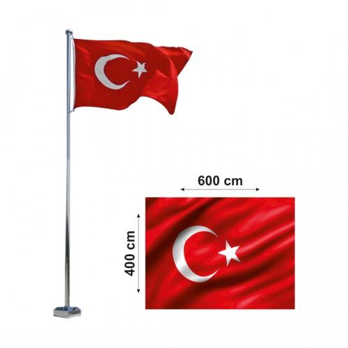 400x600  Türk Bayrağı