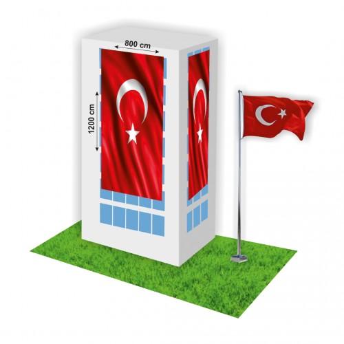 800x1200 Türk Bayrağı