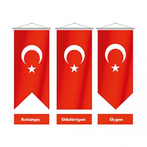 25x75 Kırlangıç Türk Bayrağı