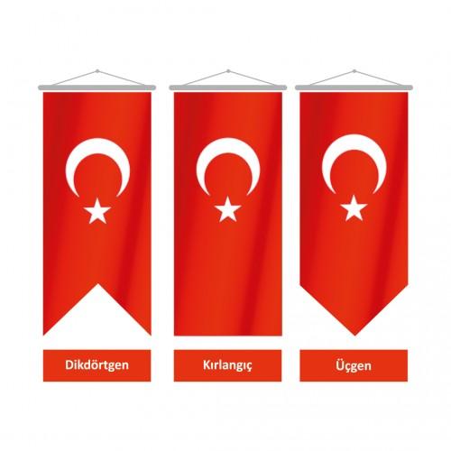 30x100 Kırlangıç Türk Bayrağı