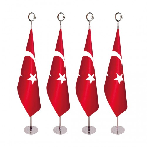 Makam Türk Bayrağı Direkli Takım