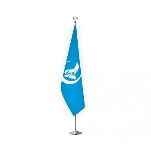 Mavi Bozkurt Makam Bayrağı Takımı