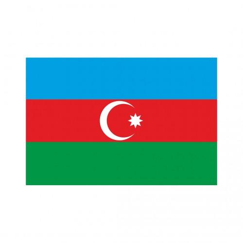 Azerbaycan Masa Bayrağı