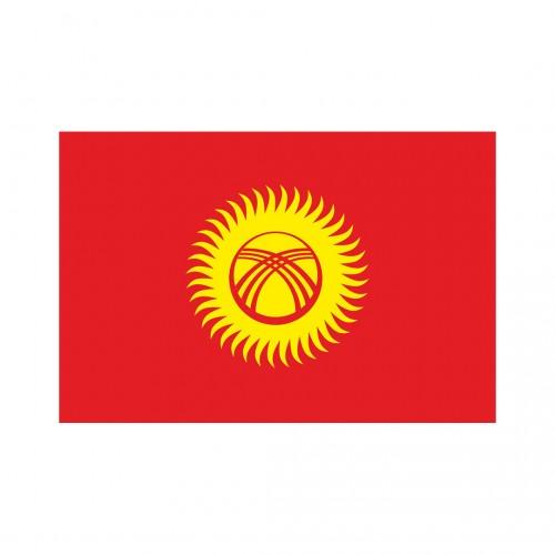 Kırgızistan Masa Bayrağı