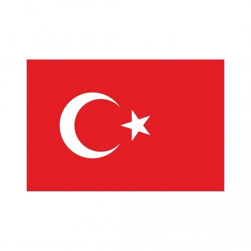 Makam Türk Bayrağı Direksiz