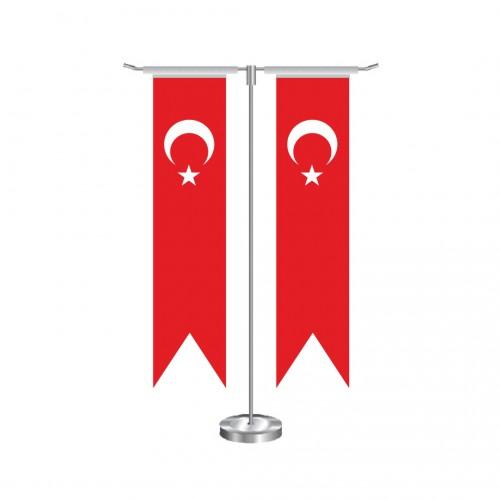 T Kırlangıç Türk Masa Bayrağı Takımı